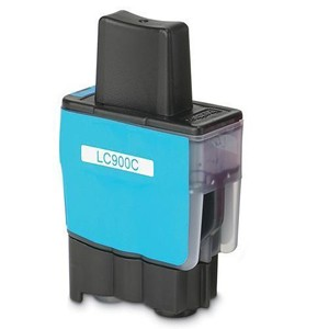 Tinta compatible Brother LC900C - Cyan
