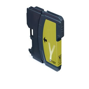 Tinta compatible Brother LC970 / LC1000 - Amarillo