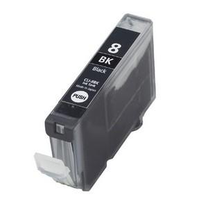 Cartucho de tinta compatible CANON CLI 8BK  Negro