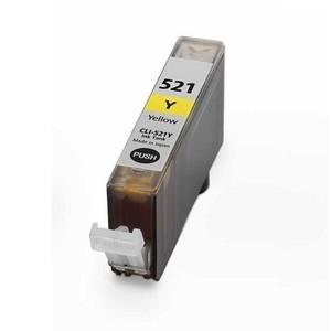 Cartucho compatible Canon CLI 521 Amarillo