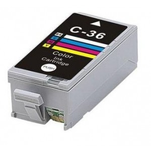 Tintas Canon compatibles PGI 36 - Color