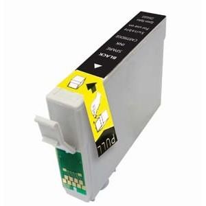 Tinta compatible Epson T0711 / T0891 - C13T07114010 - Negro - 14 ML