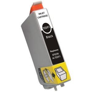 Tinta compatible T0591 Epson - C13T05914010 -  Negro - 17 ML