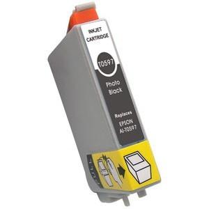 Tinta compatible con EPSON T0597 -  C13T05974010 - Gris  17 ML