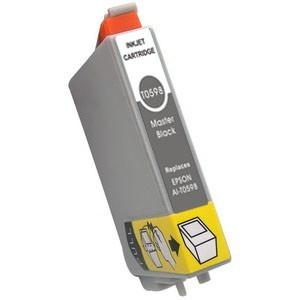 Tinta compatible con EPSON T0598 - C13T05984010 - Negro mate - 17 ML