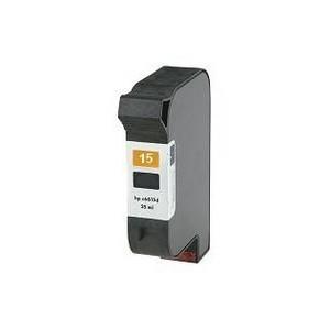 Cartucho reciclado de tinta HP 15 - Negro