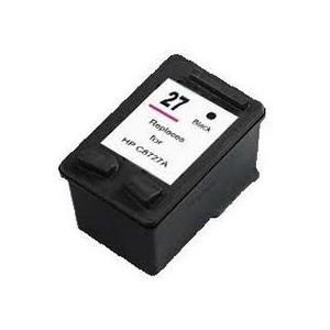 Cartucho de tinta compatible HP 27 - Negro