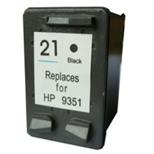 Cartucho de tinta compatible HP 21XL - C9351CE - Negro - 20 ML