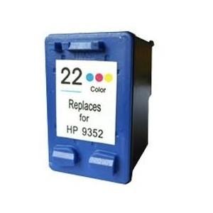 Cartucho de tinta compatible HP 22XL - C9352CE - Color - 18 ML