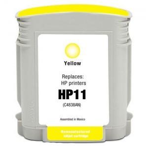 Cartucho genérico HP 11 - Amarillo