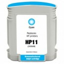 Tinta compatible HP 11 - Cyan