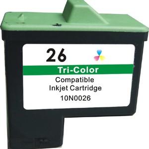 Cartuchos tinta LEXMARK L26 color