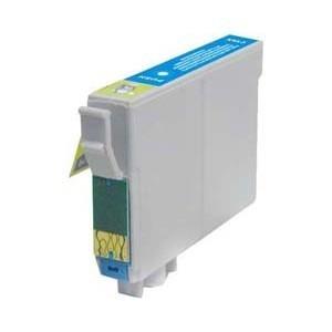 Cartucho de tinta compatible EPSON T1282 - C13T12824010 cyan 8 ml