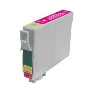 Cartucho de tinta compatible con EPSON T1283 - C13T12834011 - Magenta - 8 ML