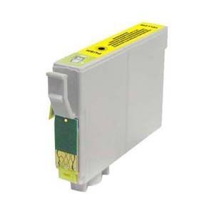 Cartucho de tinta compatible con EPSON T1284 - C13T12844011 - Amarillo - 8 ML